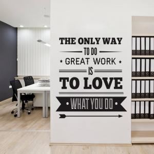 Office Decor Typography Ins..