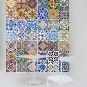 Tile Stickers Portuguese Modern Dec..