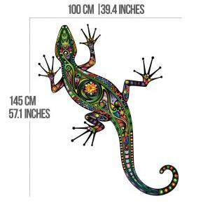 Lizzard Decoration Vinyl Wall Art D..