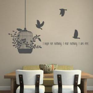 Wall Decal Quotes -Hope for Nothing..