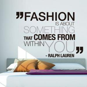 Wall Decal Quotes - Ralph Lauren Fa..