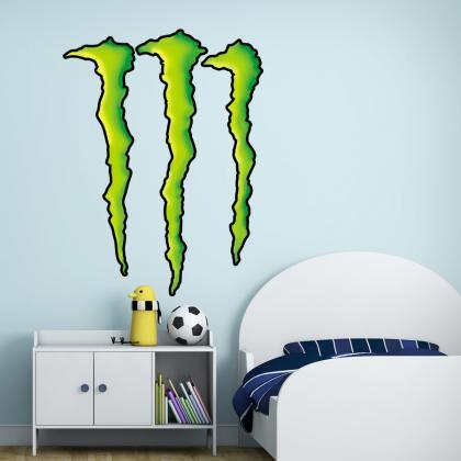 Monster Claw Wall Decal Sticker for..