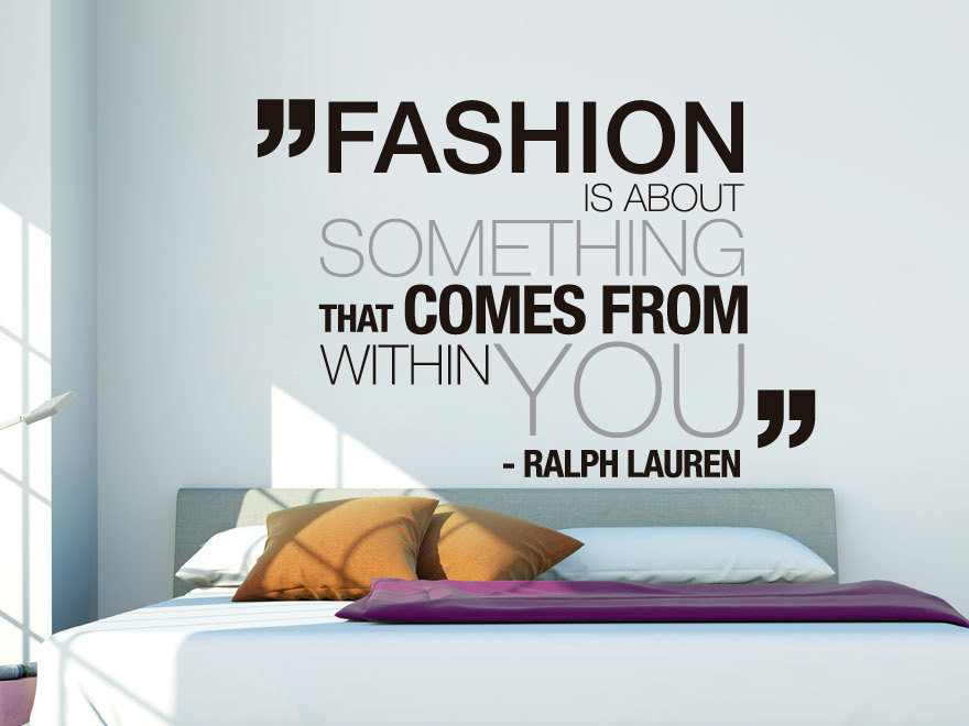 wall decal quotes ralph lauren fashion art quote sticker home decor for housewares vinyl wall decal - Home Decor Quotes