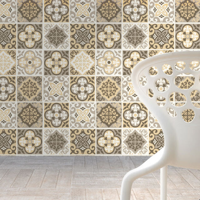 Http Www Luulla Com Product 347502 Wall Tile Decals Terra Pedra Patterns For Kitchen Remodel Decor Pack With 48 4 X 4 Inches